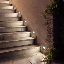 Luminarias LED para grada